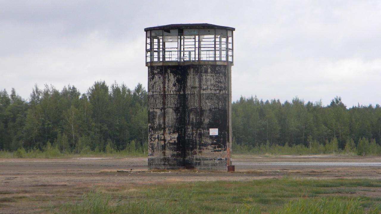 Dwie wieże na rowerze – Zbiornik Gilów