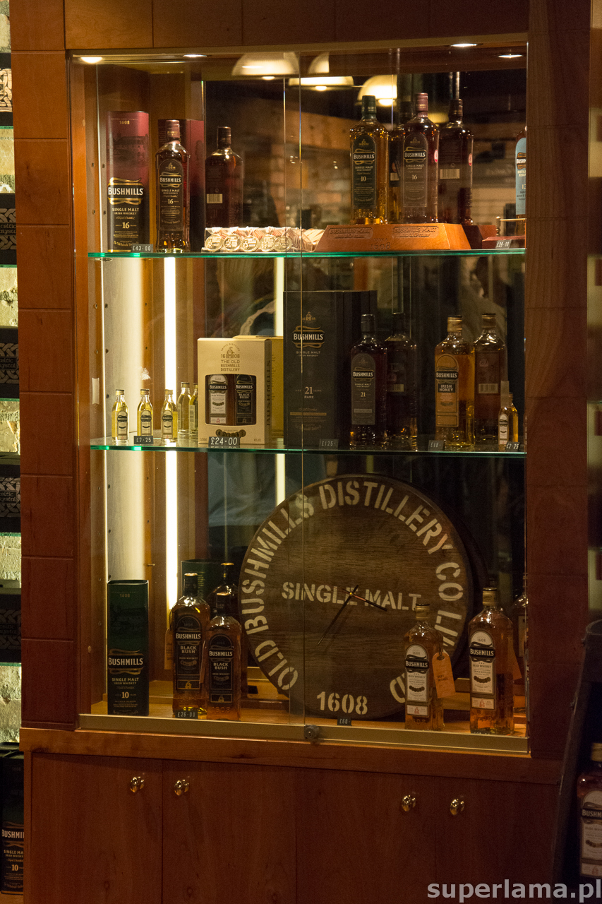 Bushmills shop